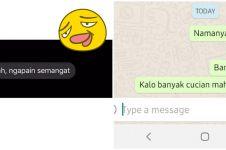 8 Chat motivasi dari teman ini nyelenehnya bikin tepuk jidat