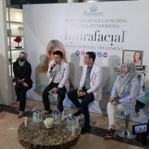 Hydrafacial, perawatan kecantikan untuk kulit lebih lembut & kenyal