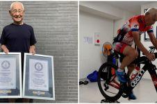 4 Fakta Hiromu Inada, peserta tertua kejuaraan triathlon Ironman