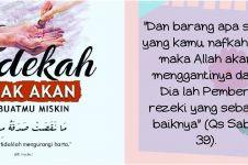 40 Kata-kata mutiara Islam tentang sedekah, bikin semangat berbagi
