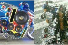 10 Modifikasi motor antimainstream ini bikin geleng kepala