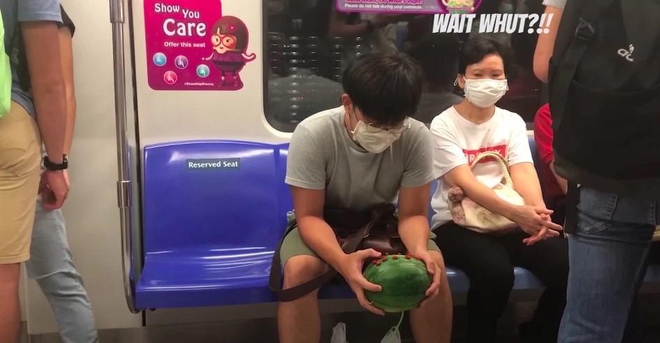 Viral game dari semangka YouTube/Cedishappy