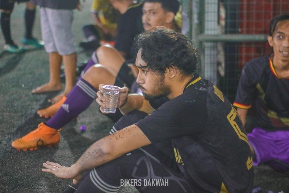 Potret terbaru Achmad Megantara tampil dengan brewok © 2020 Instagram/megantaraaa