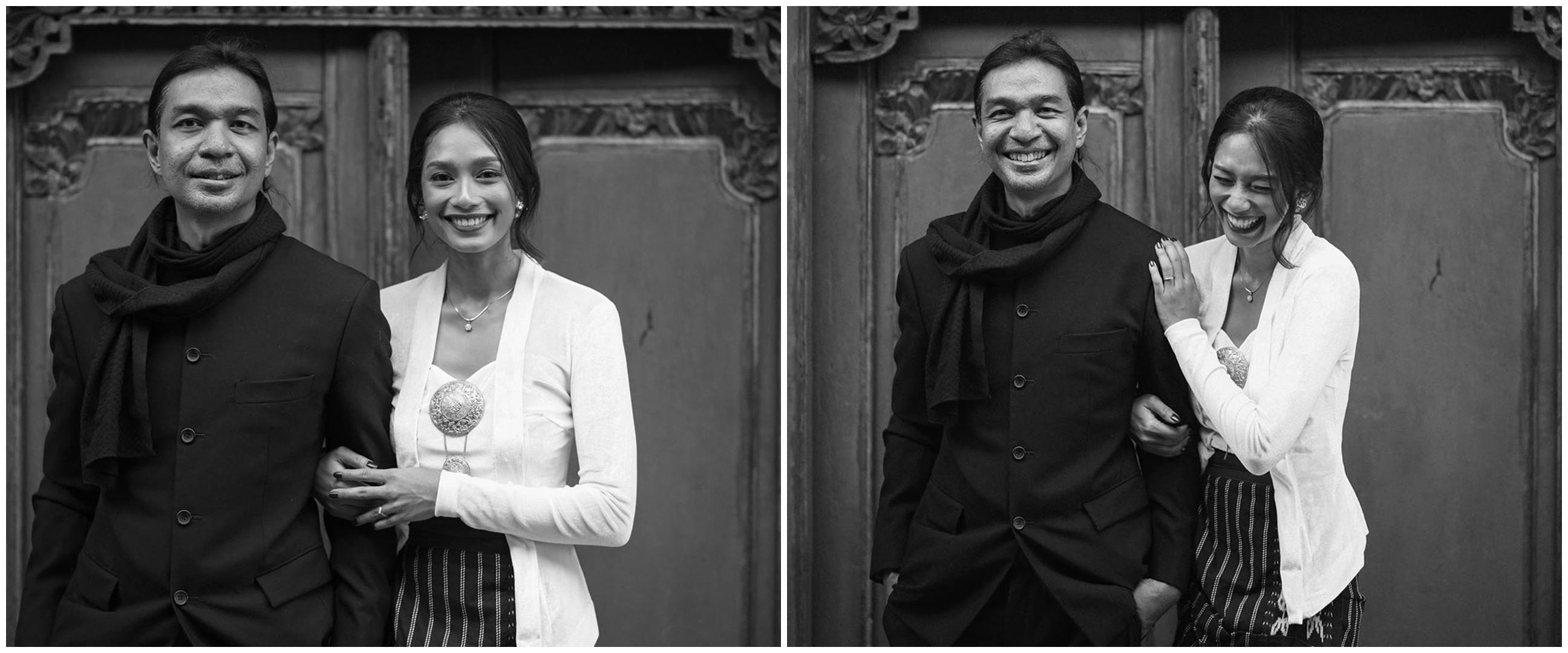 10 Momen lamaran Dimas Djay & Faradina Mufti, penuh kebahagiaan