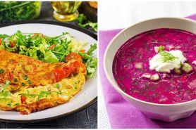 10 Resep menu sarapan sehat untuk diet, praktis dan enak