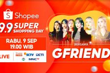 2 Hari Lagi! Saksikan GFRIEND di TV Show Shopee 9.9 Super Shopping Day