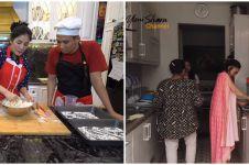 Hobi masak, intip potret dapur kotor vs dapur bersih 5 seleb