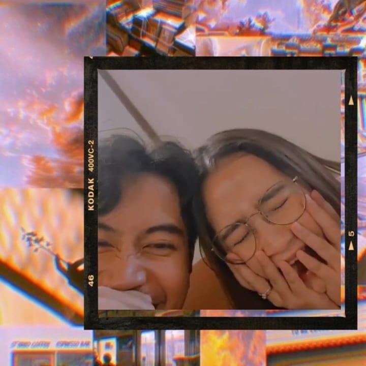 potret kebersamaan Prilly Latuconsina & Vidi Aldiano © 2020 Instagram