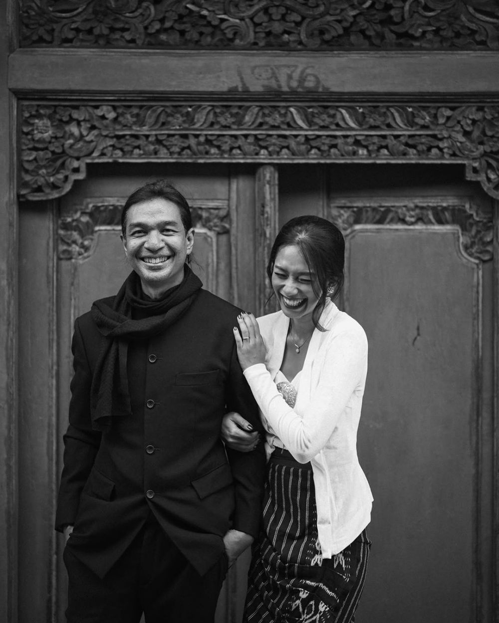 Potret bersama Dimas Djay dan Faradina Instagram