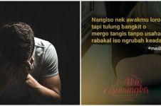 40 Kata-kata sedih bahasa Jawa dan artinya, singkat tapi menyentuh