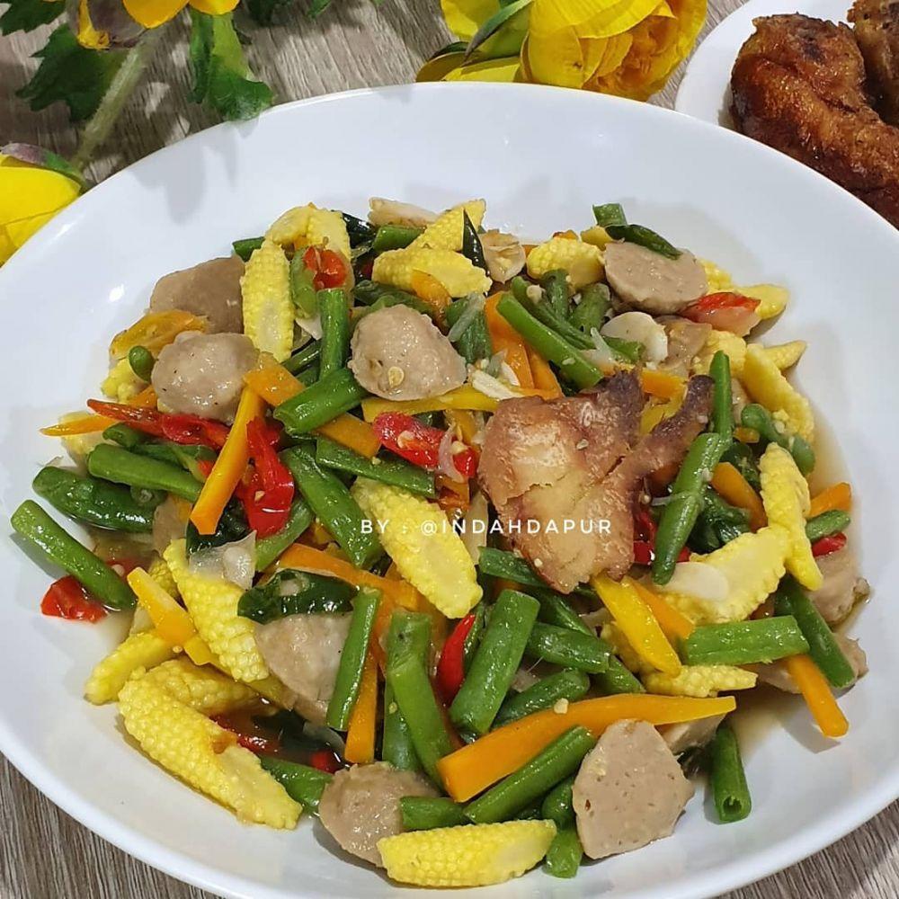 Resep oseng sayur © 2020 brilio.net