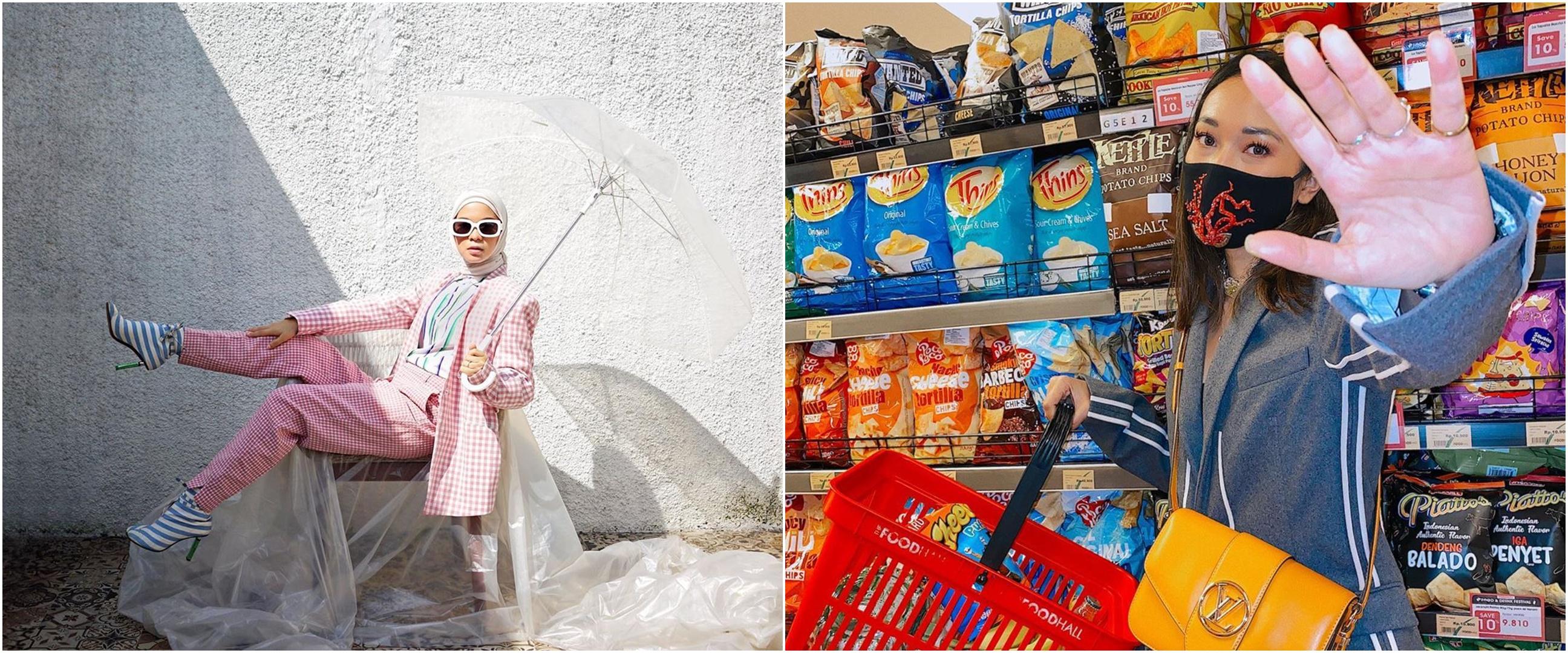 10 Ide background photoshoot ala seleb, ada yang pakai terpal