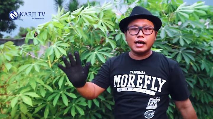Narji jadi petani sayuran YouTube