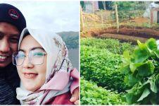 12 Potret Narji jadi petani sayuran, gayanya nyentrik abis