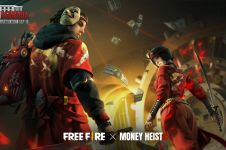 5 Fakta Free Fire x Money Heist, keseruan rencana besar The Professor