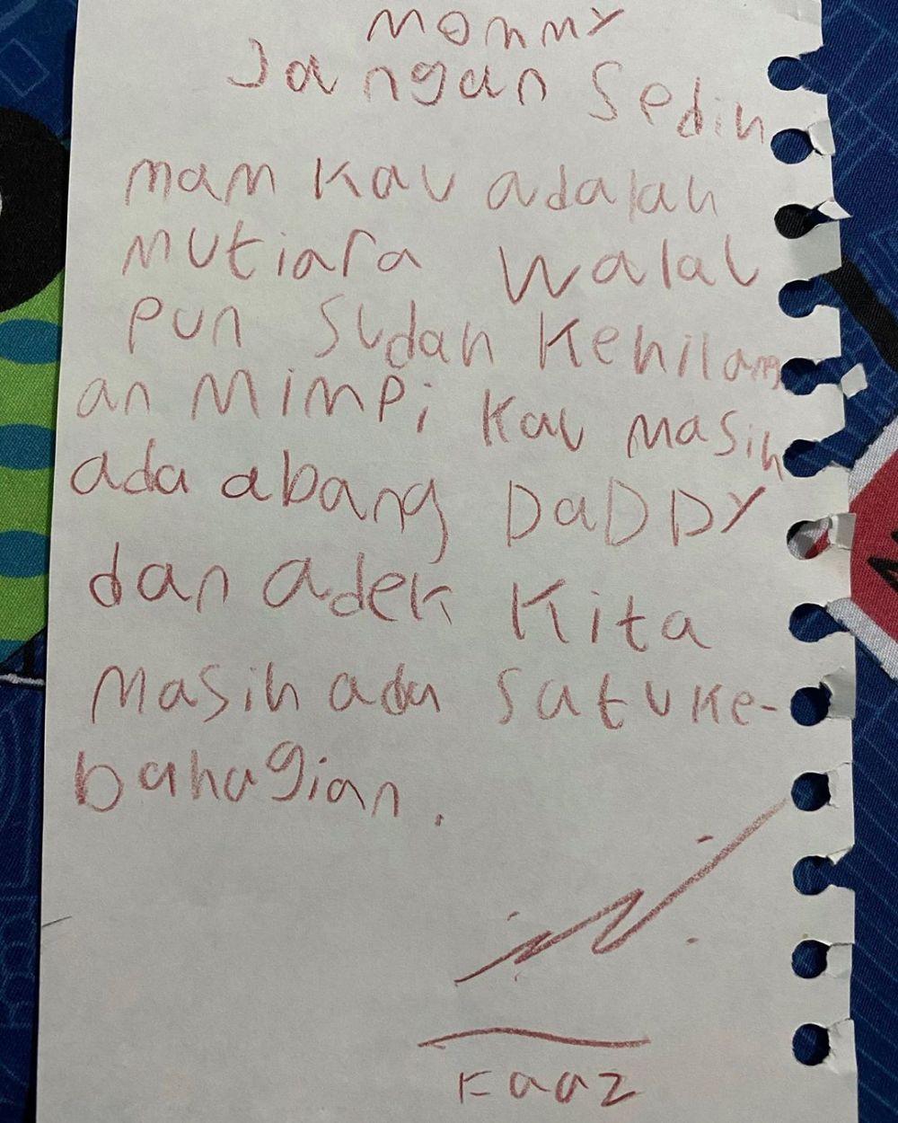Fairuz A Rafiq keguguran anak beri dukungan © 2020 brilio.net