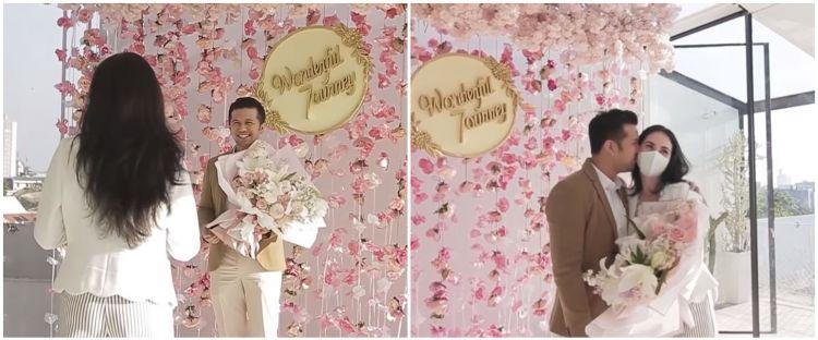 10 Potret ultah pernikahan Arumi Bachsin & Emil Dardak, penuh kejutan