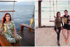 10 Potret keseruan keluarga Anang-Ashanty liburan ke Gili Trawangan