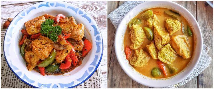 12 Resep masakan tahu putih enak, simpel, dan mudah dibuat