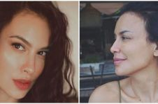 Beda penampilan 13 seleb cantik usia 50-an pakai vs tanpa makeup