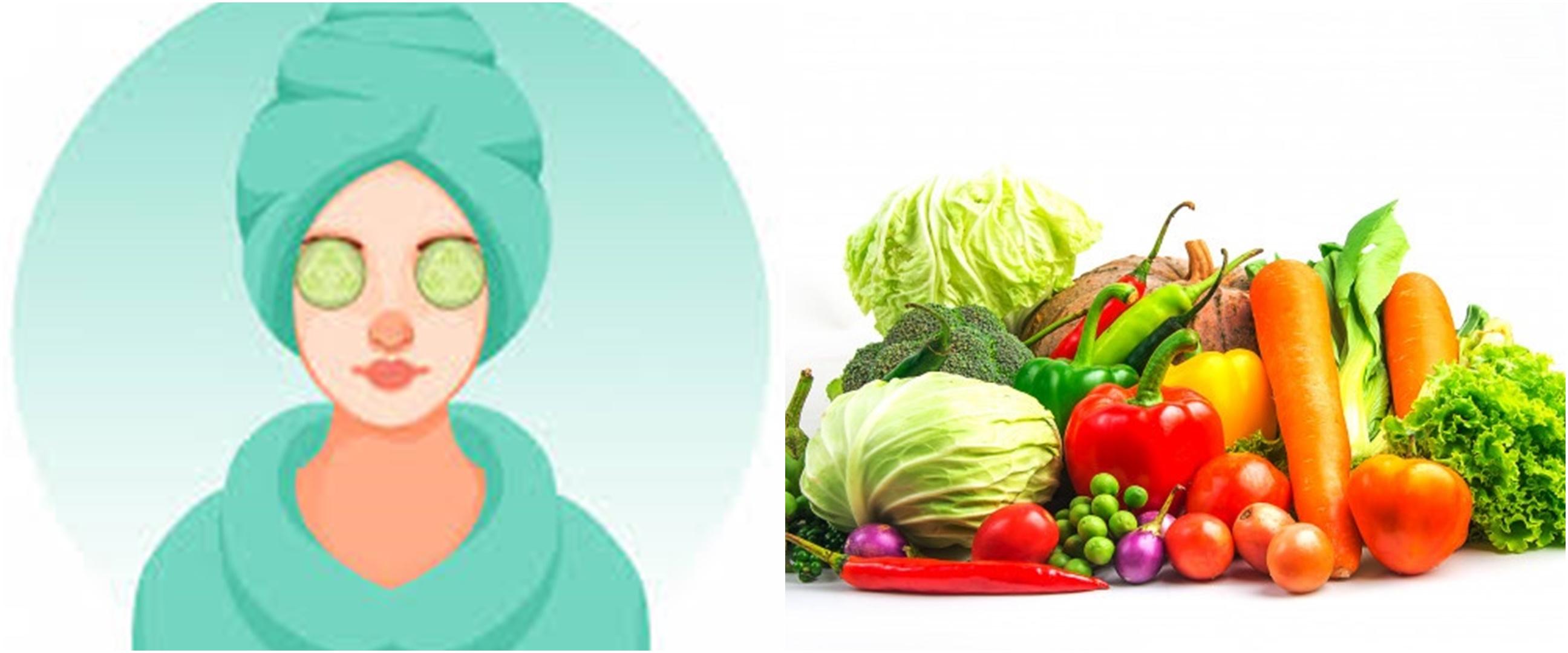 10 Cara membuat masker wajah dari sayuran, mencerahkan kulit