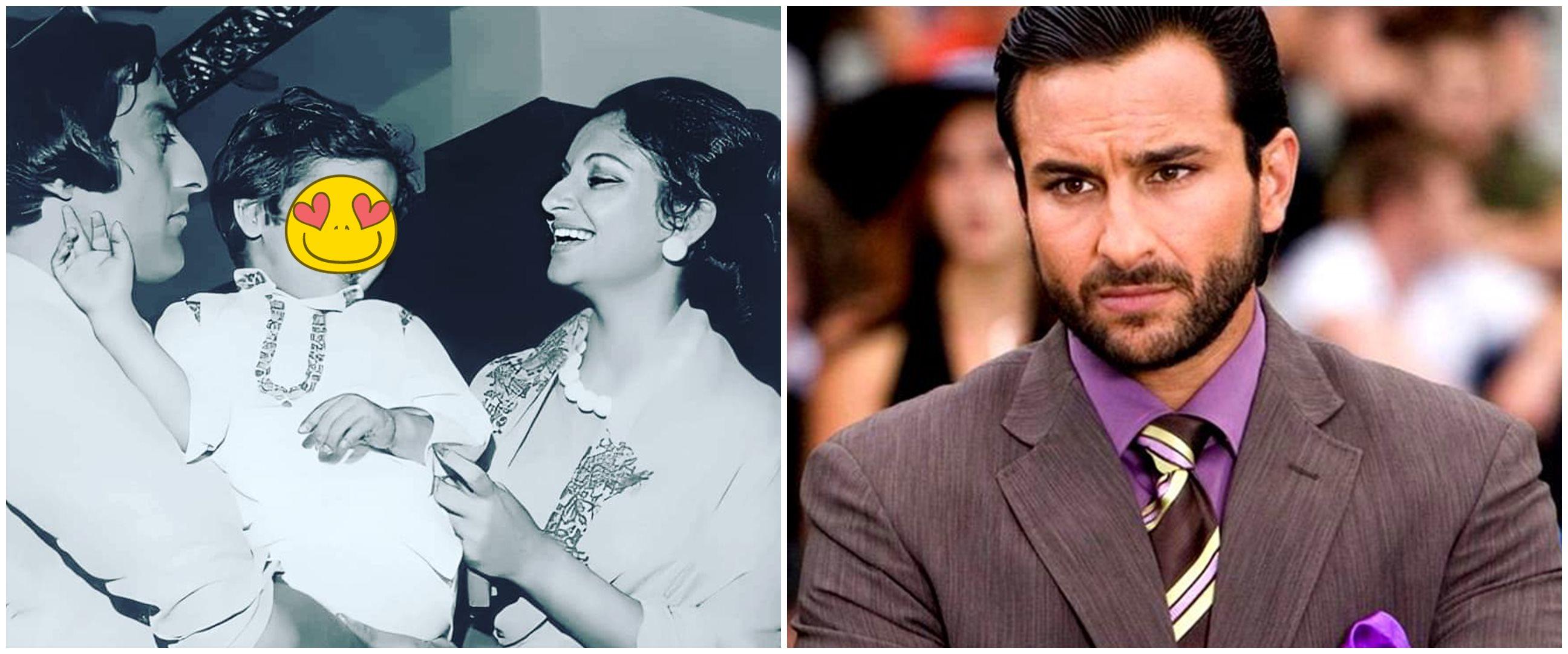 12 Transformasi Saif Ali Khan dari kecil sampai jadi aktor Bollywood