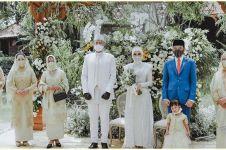 8 Potret pernikahan kakak ipar Kahiyang Ayu, Jokowi jadi saksi nikah