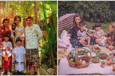 15 Potret keluarga The Hermansyah jalani pemotretan, kompak