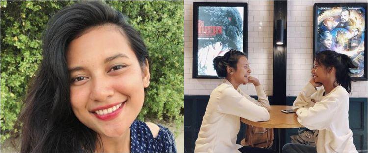 8 Potret kompak Indah Permatasari & adik perempuan, sibling goals