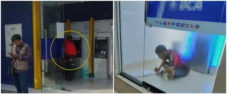 13 Kelakuan lucu orang saat di ATM ini bikin ngakak, absurd abis