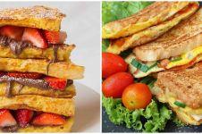 13 Resep roti ala kafe, cocok untuk sarapan dan camilan