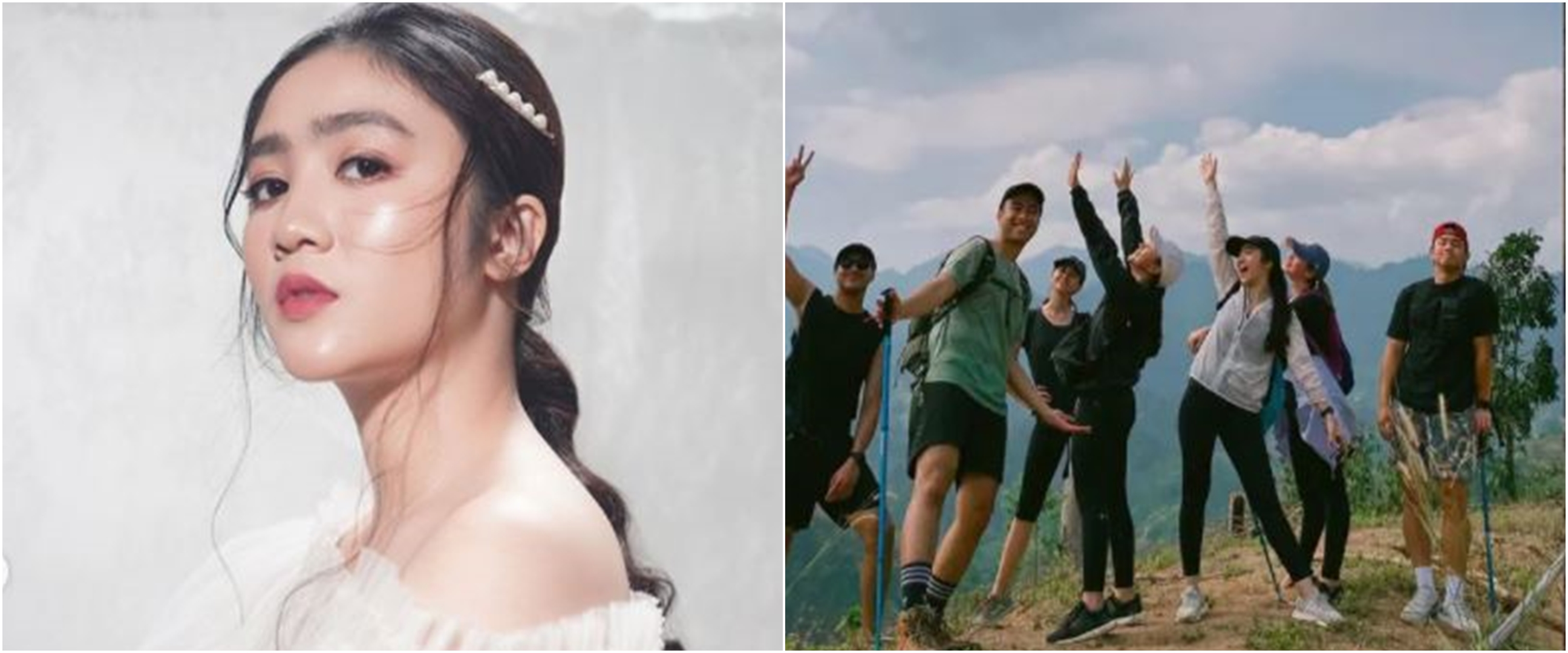 8 Potret seru Febby Rastanty, Jessica Mila & Yuki Kato trekking bareng