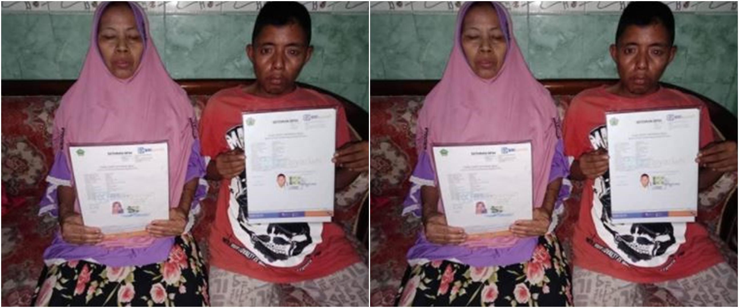 Pemuda ini ajak ibu naik haji setelah tabung uang dari ngamen 10 tahun