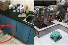 10 Penampakan desain dapur nyeleneh ini bikin heran