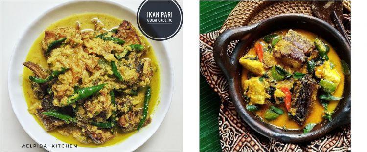 10 Resep olahan ikan pari, enak, gurih, dan mudah dibuat
