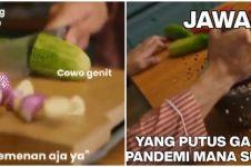 5 Meme lucu masak sambil curhat ini ujungnya bikin hati ambyar