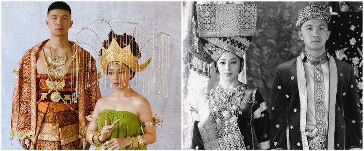 10 Gaya prewedding Nikita Willy & Indra Priawan berkonsep tradisional