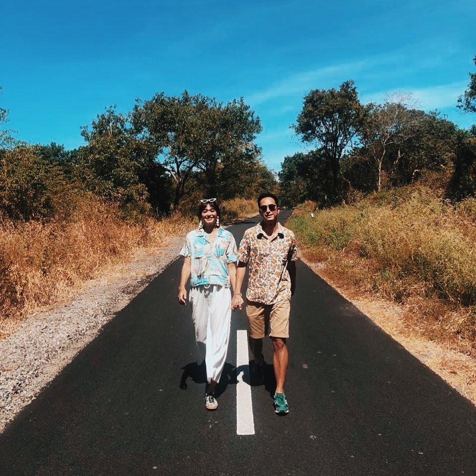 kebersamaan dj dan pasangan © 2020 Instagram