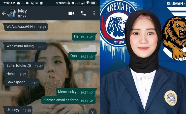 10 Chat lucu minta editin foto ke teman, hasilnya bikin cekikikan