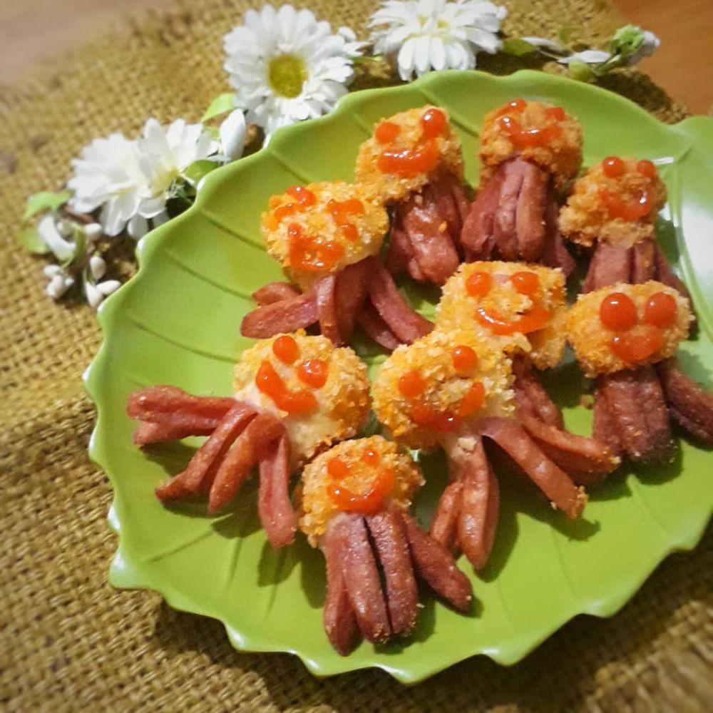 resep camilan sosis © 2020 brilio.net