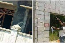 10 Momen lucu tukang bangunan salah pasang ini bikin nyengir