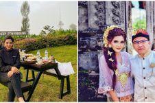 13 Potret keluarga Ashanty liburan di berbagai daerah saat new normal