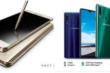10 HP Samsung RAM 4 GB harga Rp 1 jutaan, desain mewah