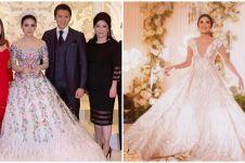 Inspirasi gaun pernikahan 9 penyanyi Indonesia, mewahnya bak princess
