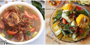 15 Resep sayur tanpa santan, sedap, praktis, dan sederhana
