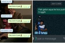 10 Chat lucu netizen pesan air galon ini bikin senyam-senyum geli