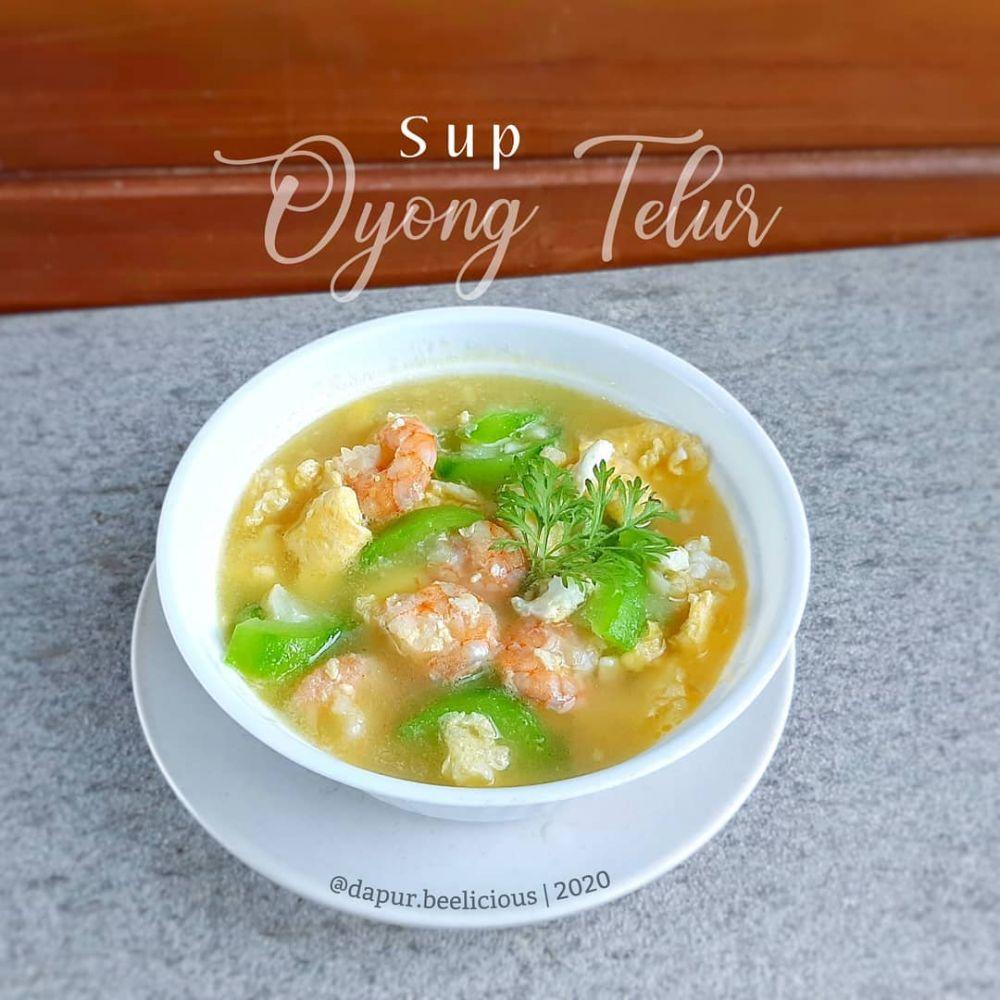 Resep sup telur berbagai sumber