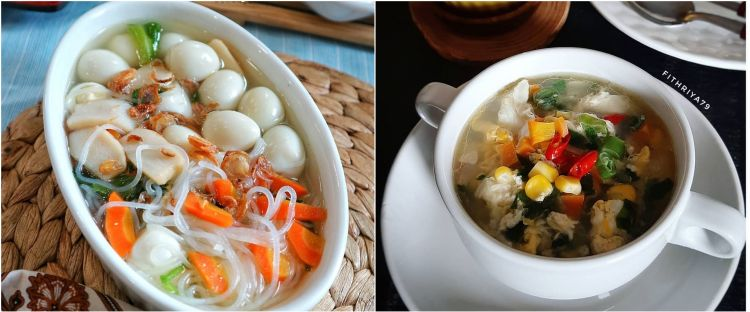 10 Resep sup telur, enak, segar dan bikin nagih