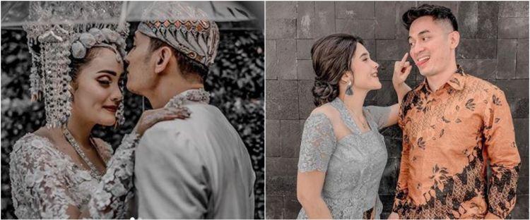 7 Momen mesra Ichal Muhammad dan istri usai menikah