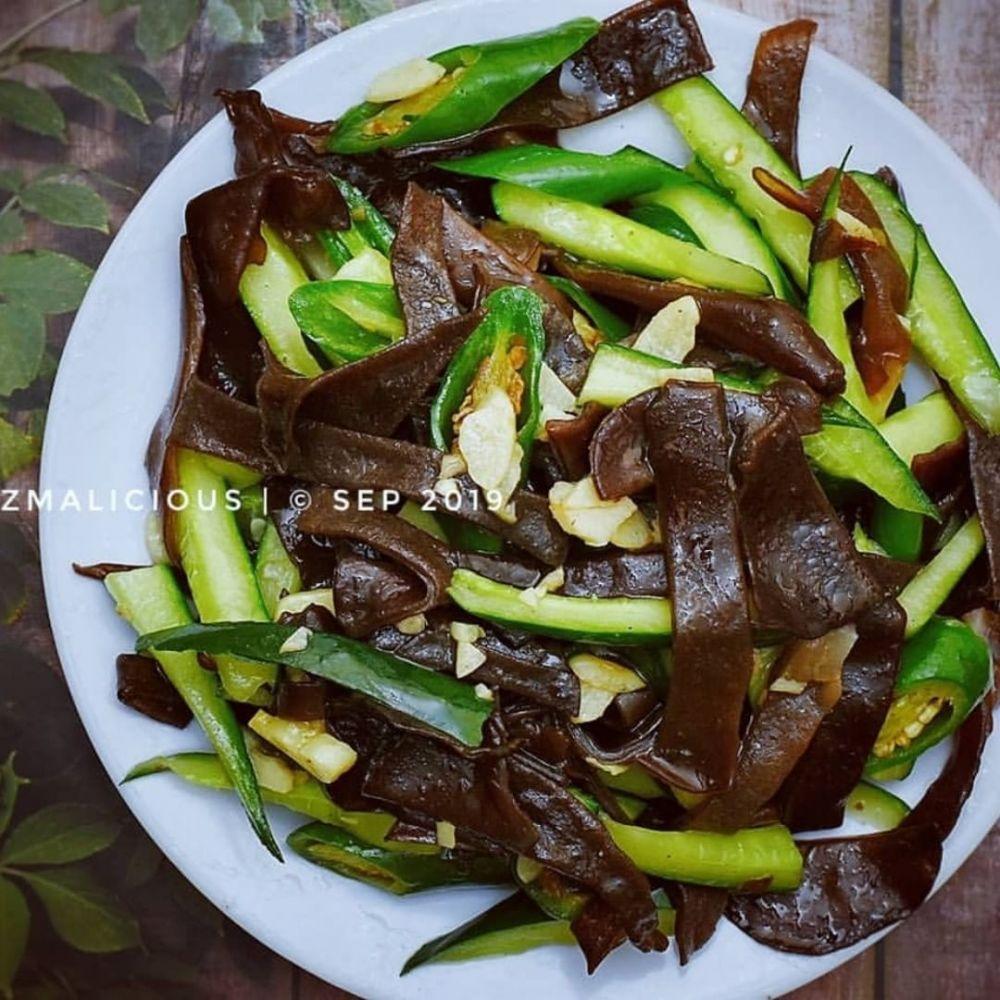 Resep jamur kuping © 2020 brilio.net